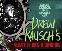 Drew Rausch's Website of Artistic Curiosities
