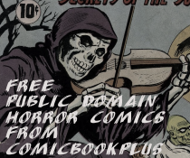 Free Public Domain Horror Comics from ComicbookPlus!
